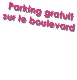 Parking gratuit sur le boulevard