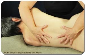Massage sur le côté