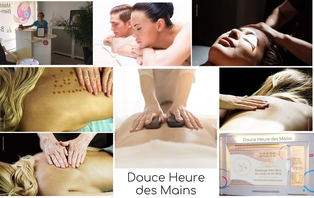 Présentation du Massage au salon Douce Heure des Mains à Nantes